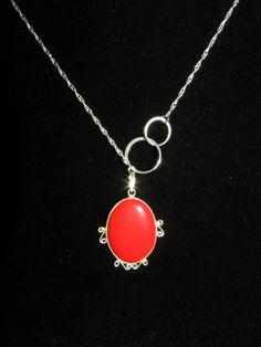 Sterling silver necklace with beautiful natural by LoveLsJewels, $50.00