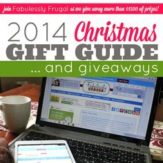 2014 Gift Guide and Giveaways!! We are SO excited to give our FAB readers over $1500 in prizes from now until Christmas! Check it out! #giveaway #giftideas