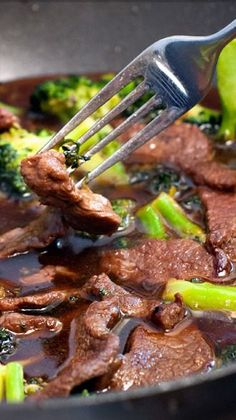 Terriyaki Beef & Broccoli Stir fry