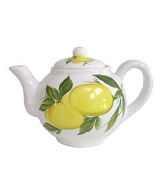 Take a look at this Lemon Teapot by Abbiamo Tutto on #zulily today! $35 !!