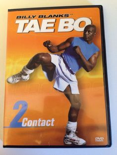 Billy Blanks - Tae Bo Contact 2 (DVD, for sale online Tae Bo, Martial Arts Workout, Everyday Workout, Lose Weight At Home, Do Exercise, Total Body, Aerobics, Get In Shape, Workout Videos