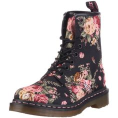 Nice floral Dr. Martens women's boots.