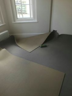 Cutting the carpet