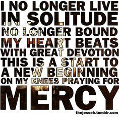 Lyrics from #AugustBurnsRed #redemption