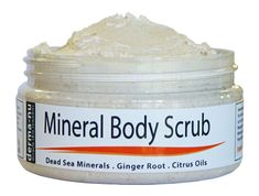 Dead Sea Salt Scrub By Derma-nu - Exfoliate Face, Body & Hands - Body Scrub Cleanses, Detoxifies and Mineralizes - Leaves Skin Soft and Smooth - Treatment for Psoriasis and Eczema Remedies - Dead Sea Salt Scrub, Sea Salt Scrubs, Citrus Essential Oil, Citrus Oil, Essential Oils, Eczema Remedies, Home Remedies For Acne, Natural Remedies, Dead Sea Minerals
