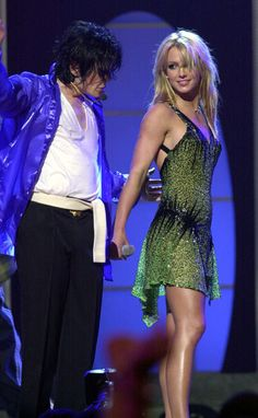Britney Spears and Michael Jackson, love