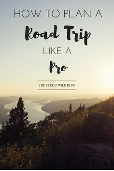 Road trips are awesome. But they can also take a lot of work to plan.  Follow these 4 simple steps to planning an incredible road trip like a pro!