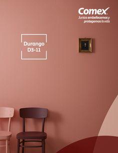 ¿Estás buscando renovar tus espacios? Prueba nuestro color #Durango. #ComexPinturerías #Decoración Room Paint Colors, Paint Colors For Home, Bedroom Colors, House Colors, Bedroom Decor, Hall Colour, Bedroom Color Combination, Exterior Paint Color Combinations, Boho Chic Living Room