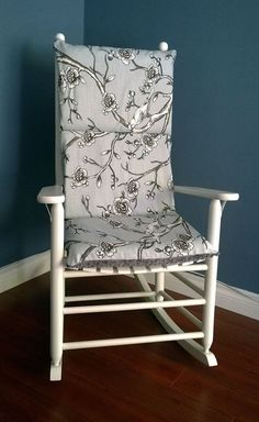 rocking chair cover going to recover my old glider for harlows new