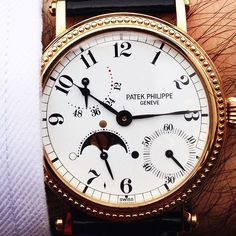 When Patek Philippe used to be Patek Philippe ....5015 in rose gold now #forsale #patekphilippe #europeanwatchco