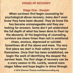 #PsychologicalAbuse #recovery #narcissist #sociopath #psychopath #StagesofRecovery #domesticviolence