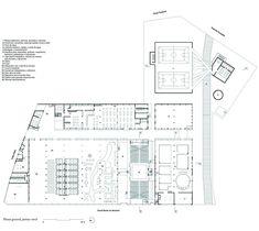 Clásicos de Arquitectura: SESC Pompéia / Lina Bo Bardi,Planta General