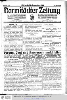 Darmstädter Zeitung: amtliches Organ der Hessischen Landesregierung (1914, Vol. 2) (Darmstadt, 1914)