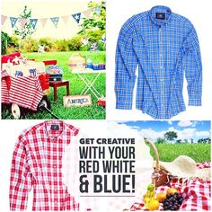 Red, white & blue is always in style and there are so many ways to wear it!  Now is the perfect time to order one of these A.W.Dunmore shirts that will serve you so well for  picnics, BBQ's beach parties & brunches all summer long.  Originally Retail $125.- today on MyShirtMyLife.com   #shopnow online for only $49.50! Your savings are (60%) - $75.50 on each!!!!