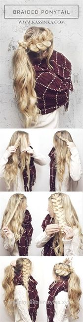 Great 45 Super Pretty Long Hairstyle Ideas for 2017  The post  45 Super Pretty Long Hairstyle Ideas for 2017…  appeared first on  Amazing Hairstyles .