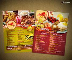 Diseños menús de Restaurante