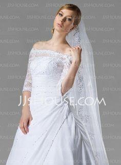 Wedding Veils - $47.99 - Wedding Veils (006004053) http://jjshouse.com/Wedding-Veils-006004053-g4053