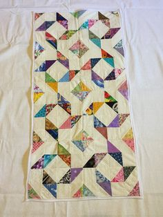 Check out this item in my Etsy shop https://www.etsy.com/listing/275050252/multicolor-table-runner-34x18-ldt043