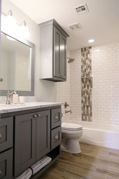How To Use Diffe Subway Tiles In Your Bathroom