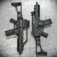 The sexiest gun in the world-G36c and G36c with Standard hybrid carry handle from a G36.