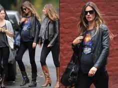 Vêtements à la mode femme enceinte