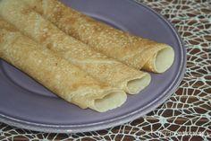 Le crepes vegane realizzate con la farina 0 e latte di soia particolarmente leggere e ideali per preparazioni dolci e salate.