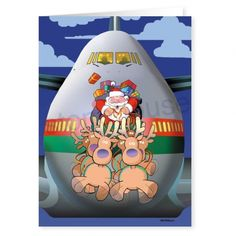 move it funny christmas card - Aviation Christmas Cards