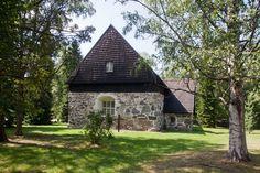 Old Buildings, Finland, Nostalgia, Cabin, House Styles, Home Decor, Historia, Decoration Home, Room Decor