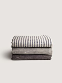Fog Linen Work via Art&Article, chambray bed linen