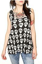 Hot Topic B Skull Pyramid Tank Top ($26.50)  Too much for camera?