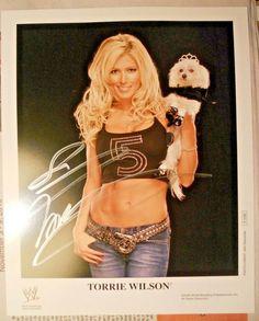 Torrie Wilson, Wrestling Divas, Auction, History, Ebay, Historia