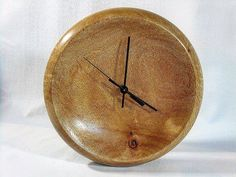 Bowl style wall clock made  from Rescued Silky Oak timber.  #woodwork #handcrafted #shopping #timber #wood #craft #recycled #australia #gift #clock #interiordesign #decor #brisbane #goldcoast #sydney #brisbane #melbourne #perth #adelaide #canberra #hobart #darwin #art