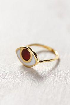 Anthropologie Maker's Circle Vision Ring #bijoux #bijouxcreateur #bijoux2016 #jewelry #trends2016