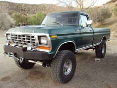 Click the image to open in full size. Classic Ford Trucks, Old Ford Trucks, Ford 4x4, Lifted Trucks, Cool Trucks, Pickup Trucks, Cool Cars, Classic Cars