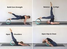 FREE & FAST SHIPPING Improve Spine Flexibility, Release Muscle Tension & Have Fun with Kurma's High Strength Yoga Wheel Originally used to help develop spinal flexibility and assist with back bends, y Yoga Stretching, Yoga Bewegungen, Sup Yoga, Pilates, Yoga Fitness, Dharma Yoga, Yoga Nature, Strength Yoga, Yoga Props
