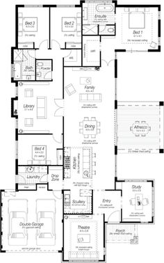 Katherone Floor Plan by Ross North Homes
