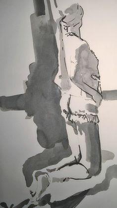 Vermeer undressing pose