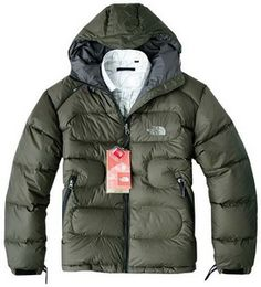 North Face New Nuptse Men's Tan Down Jacket