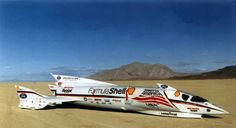 Spirit of America Sonic Arrow - 1997 - 676mph unofficial