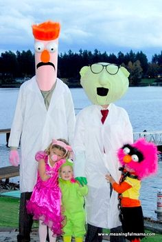 Muppets Costumes - Family Halloween Costumes