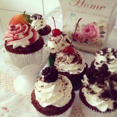 Cupcakes recheados