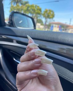 Sexy Nails, Glam Nails, Trendy Nails, Toe Nails, Beauty Nails, Long Red Nails, Curved Nails, Long Natural Nails, Nail Growth