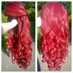 Ariel cosplay wig