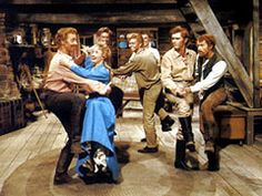 seven brides for seven brothers' millie teaching the boys to dance - Bing Images