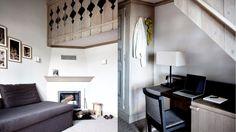Chaleureuses, les suites Junior de l'hôtel Le Fitz Roy à Val Thorens reçoivent jusqu'à trois personnes, deux adultes et un enfant de moins de 16 ans. #hotel #luxe #luxury #design #valthorens #france #frenchalps #alpes #alps #3vallees
