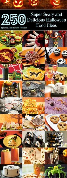 10 Easy Halloween Treats Easy halloween treats, Easy halloween and - spooky food ideas for halloween
