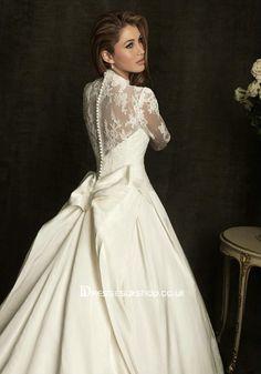 princess kate wedding dress | Kate Princess Style Ball Gown Wedding Dress Online [BGWM001] - £101 ...