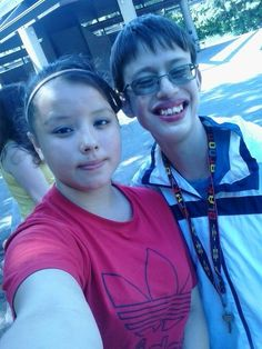 Me at the EE BBQ today with my best friend Shayla best friends for life