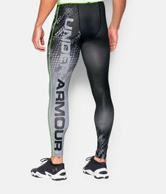 Shop Under Armour for Men's UA HeatGear® Armour Graphic Compression Leggings in our Mens Bottoms department.  Free shipping is available in US.