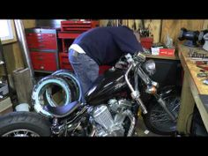 Complete Honda Shadow Bobber Build - YouTube